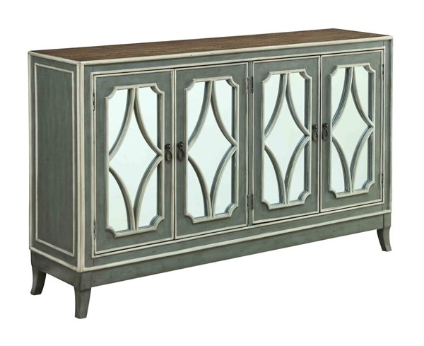 Coast to Coast Heatherfield Four Door Media Credenza CTC-13715