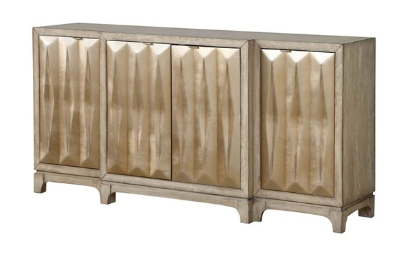 Coast to Coast Beechum Four Door Media Credenza CTC-13716