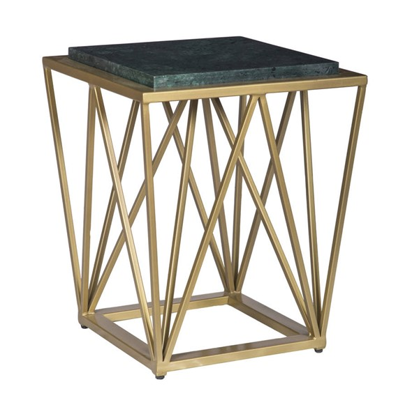 Coast to Coast Green Gold Accent Table CTC-15241