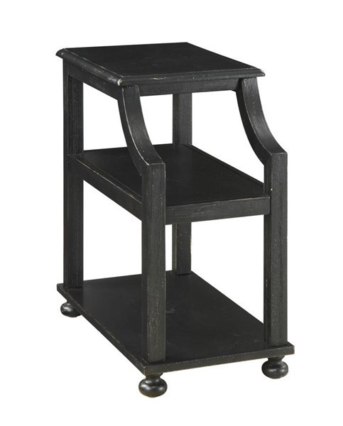 Coast to Coast Lilith Black Chairside Accent Table CTC-22509