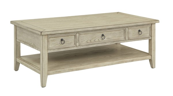 Coast to Coast Summerville Burnished Cream Lift Top Cocktail Table CTC-22511