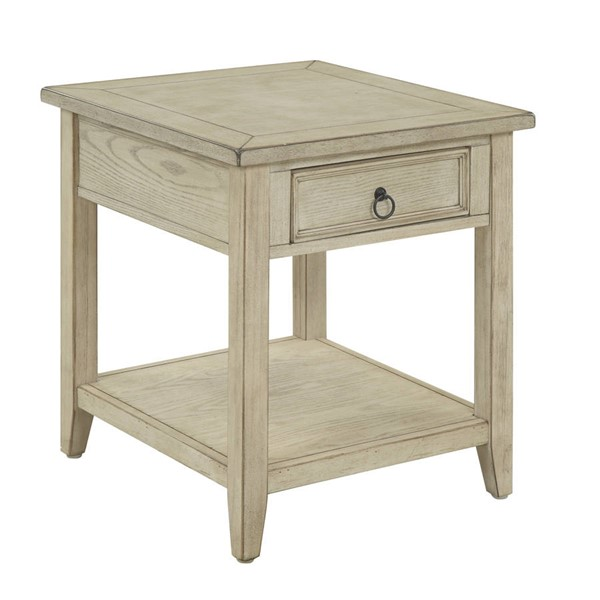 Coast to Coast Summerville Cream One Drawer End Table CTC-22512