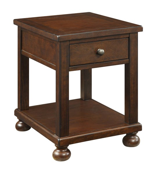 Coast to Coast Belmont Sable One Drawer End Table CTC-22515