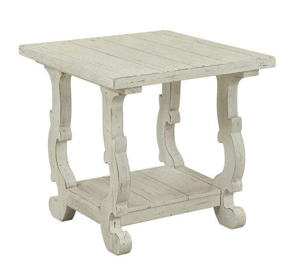 Coast to Coast Orchard Park White End Table CTC-22522