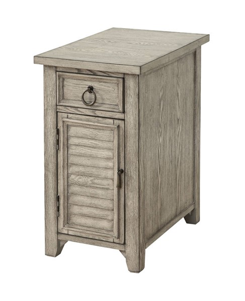 Coast to Coast Ivory One Door One Drawer Chairside with Power CTC-22558