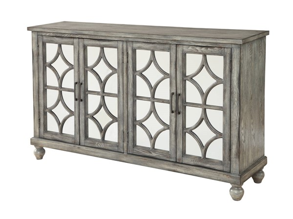Coast to Coast Catskill Grey Four Door Media Credenza CTC-22561