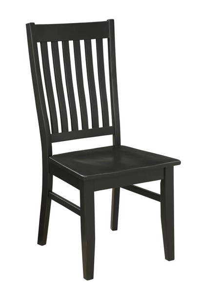 Coast To Coast Orchard Park Black Wood Dining Chair CTC-22605