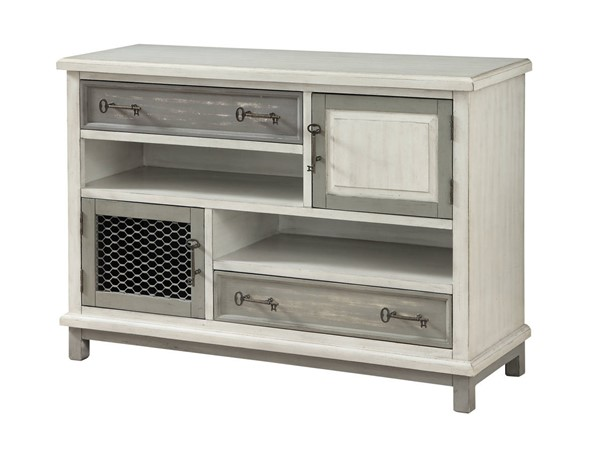Coast to Coast MDF Iron Two Drawer Two Door Media Credenza CTC-22630