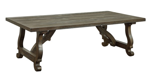 Coast to Coast Orchard Park Brown Cocktail Table CTC-30426