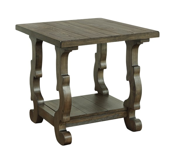 Coast to Coast Orchard Park Brown End Table CTC-30427