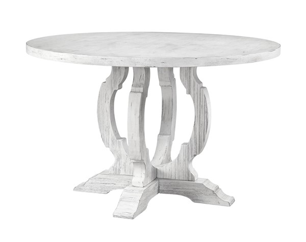 Coast to Coast Orchard Park White Round Dining Table CTC-30433