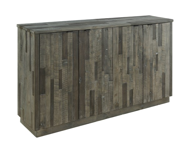 Coast to Coast Heartland Grey Four Doors Media Credenza CTC-30440