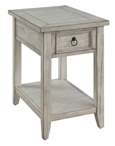 Coast to Coast Summerville Cream One Drawer Chairside Table CTC-30443