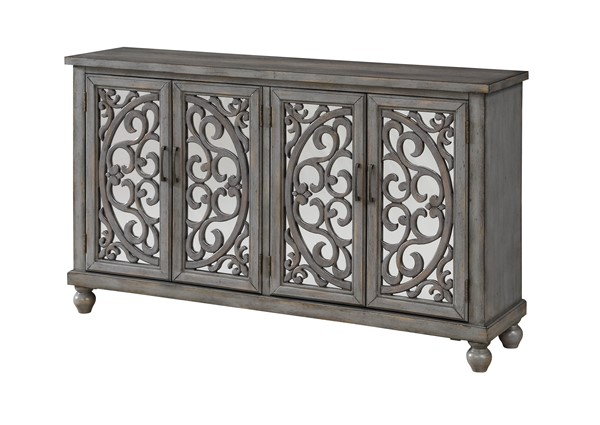 Coast to Coast Hammond Grey Four Doors Media Credenza CTC-30474
