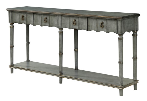 Coast To Coast Mystique Grey Four Drawer Console Table CTC-30501