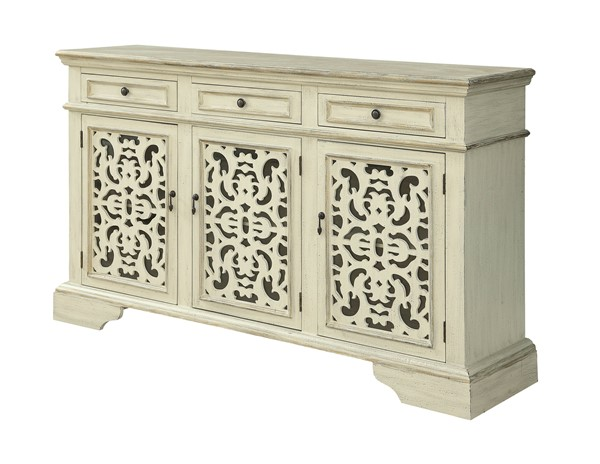 Coast to Coast Millstone Ivory Three Doors Media Credenza CTC-30503