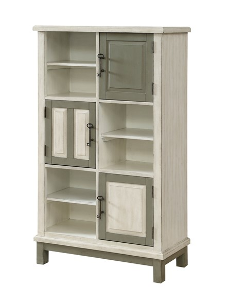 Coast to Coast Keystone Ivory Three Doors Bookcase CTC-30505