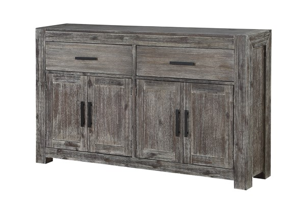 Coast to Coast Farmington Brown Two Drawers Credenza CTC-30551