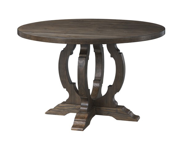 Coast to Coast Orchard Park Brown Round Dining Table CTC-36523