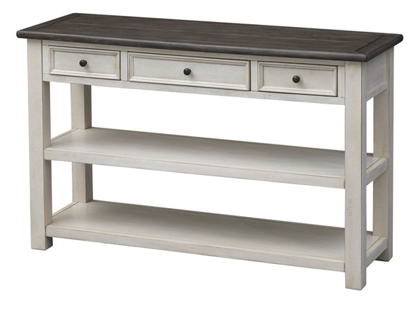 Coast To Coast St Claire Ivory Three Drawer Console Table CTC-36536