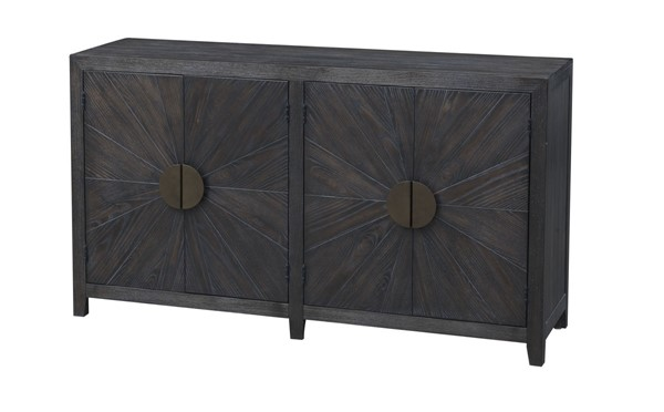 Coast to Coast Brown Door Media Credenza CTC-36548