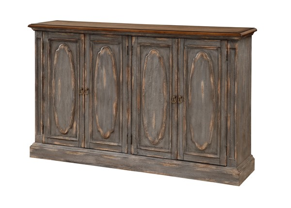 Coast to Coast Blue Rub Door Media Credenza CTC-36557
