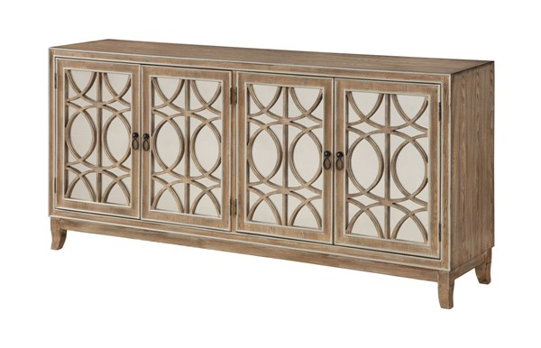 Coast to Coast Gold Four Door Media Credenza CTC-36605