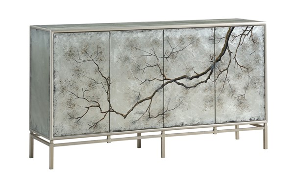 Coast to Coast Silver Four Door Media Credenza CTC-36634