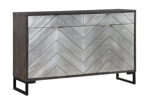 Coast to Coast Brown Four Door Two Drawer Media Credenza CTC-40249