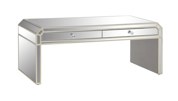 Coast to Coast Reflections Mirrored Cocktail Table CTC-40263