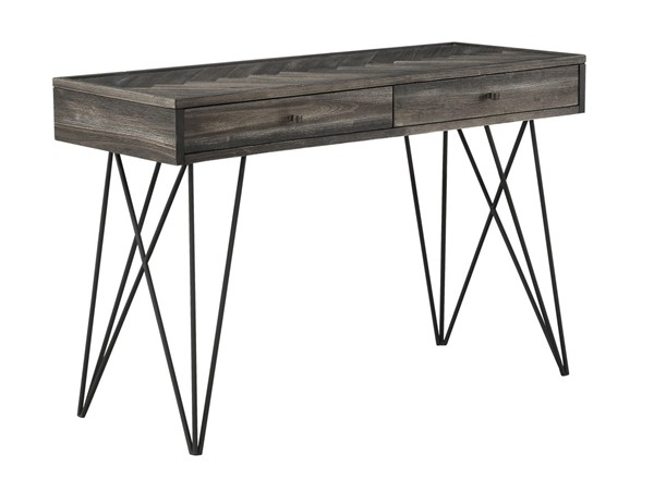 Coast To Coast Aspen Court Charcoal Grey Brown Two Drawers Console Tables CTC-40281-ST-V1