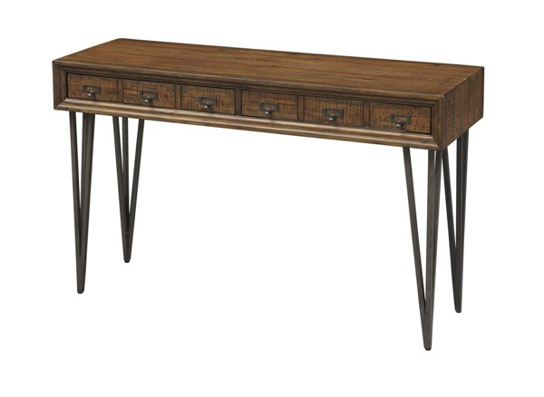 Coast to Coast Oxford Bronze Pewter Console Table CTC-40290