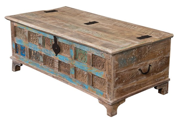 Coast to Coast Natural Accent Trunk Cocktail Table CTC-43512