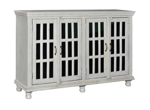 Coast to Coast White Media Credenza CTC-44633