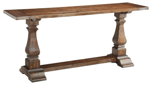 Coast to Coast Brown Rectangle Console Table CTC-46224