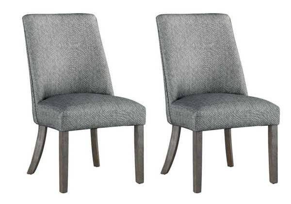 2 Coast to Coast Grey Accent Dining Chairs CTC-48115