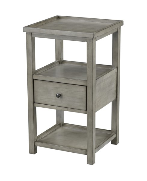 Coast to Coast Grey Drawer Chairside Table CTC-48133