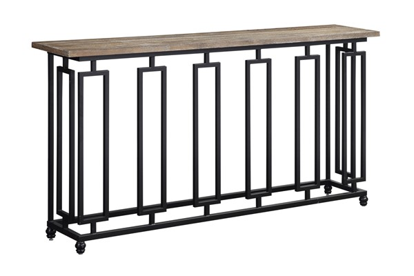 Coast to Coast Sherwood Brown Console Table CTC-48168