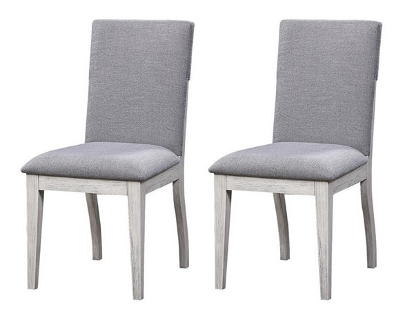 2 Coast To Coast Aspen Court II Grey Dining Chairs CTC-48197