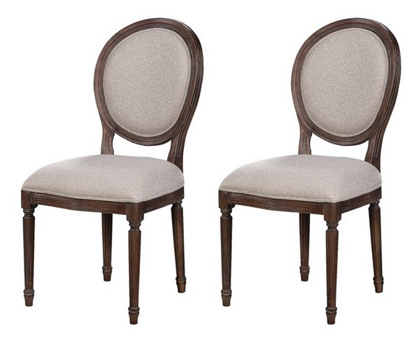2 Coast to Coast Marquette Brown Dining Chairs CTC-48219