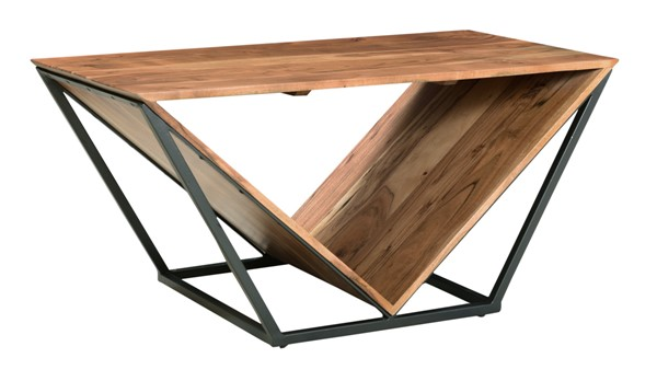 Coast to Coast Rafters Charcoal Cocktail Table CTC-49504