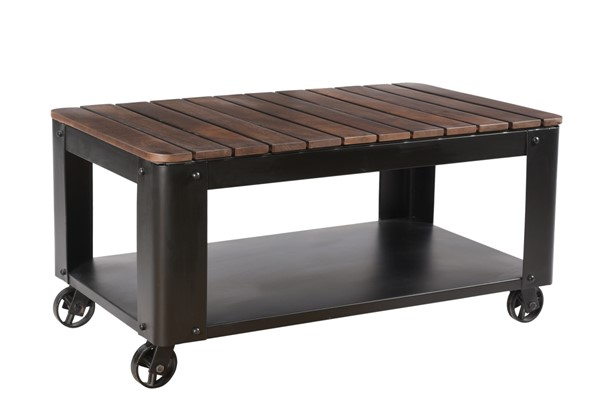 Coast to Coast Gatlin Black Cocktail Table CTC-49513