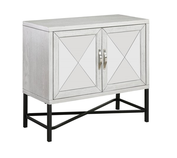 Coast to Coast White Two Door Cabinet CTC-51540