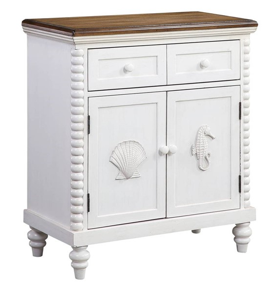 Coast to Coast White One Drawer Two Door Cabinet CTC-51542