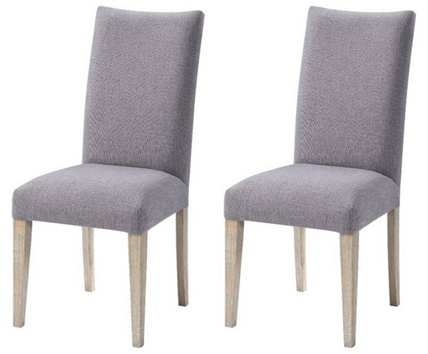 2 Coast to Coast Barrister Light Greyish Brown Upholstered Dining Chairs CTC-51559