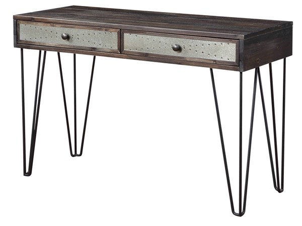 Coast to Coast Aspen Court Vintage Brown 2 Drawer Console CTC-51576