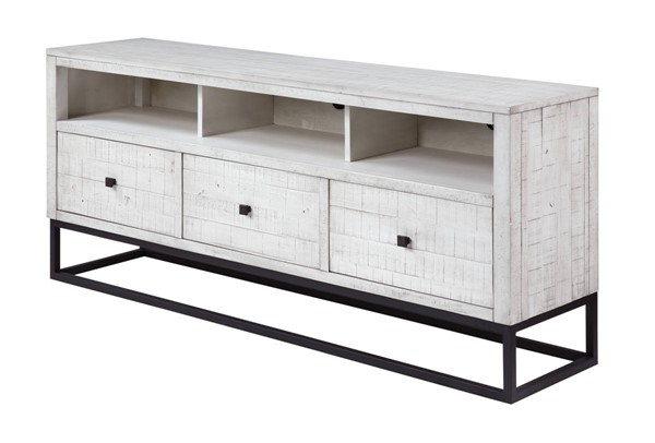 Coast to Coast Canyon Ridge White 3 Drawer Media Center CTC-51579