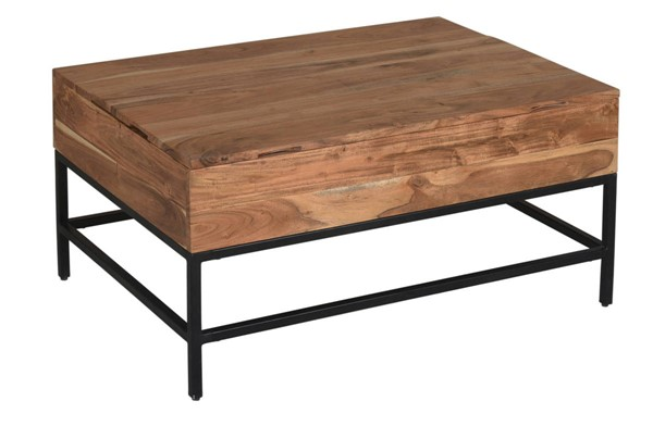 Coast to Coast Springdale Brown Lift Top Cocktail Table CTC-53400