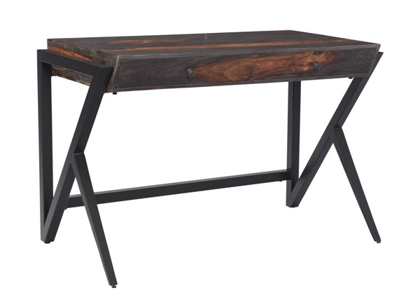 Coast to Coast Charcoal Brown Two Drawer Writing Desk CTC-53414