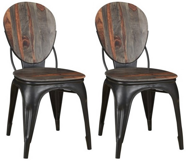 2 Coast to Coast Sierra II Brown Dining Chairs CTC-53425